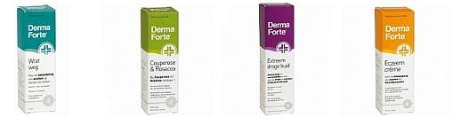 Met Derma Forte van je huidproblemen af