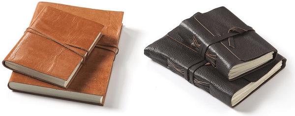 Leren notitieboekjes - Sisoriginal