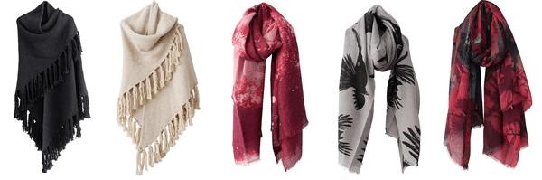 Onmisbaar in de garderobe van elke vrouw: een sjaal