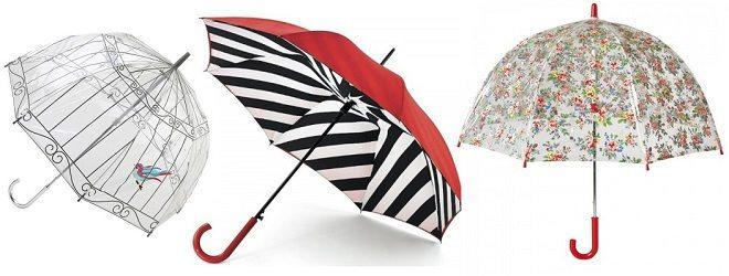 Hippe paraplu's