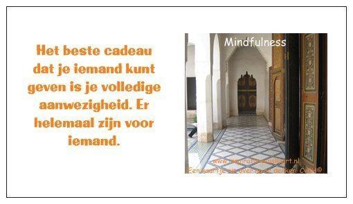 Mindfulness inspiratiekaart