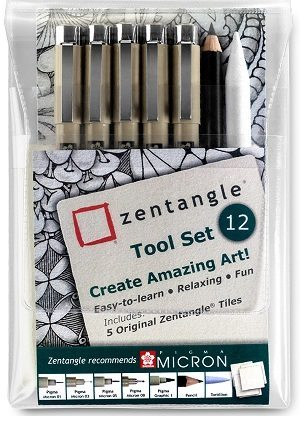 Zentangle tool set