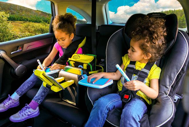 BubbleBum Junkie: de multifunctionele opbergspeelbox voor in de auto