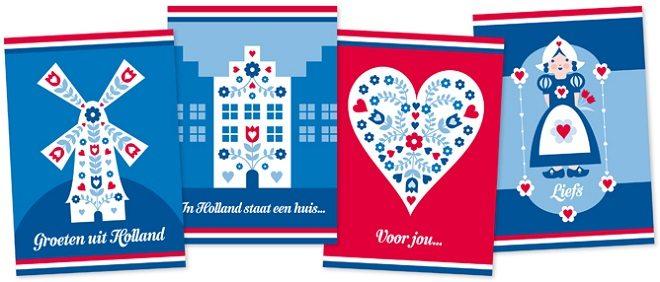 Hollandse ansichtkaarten