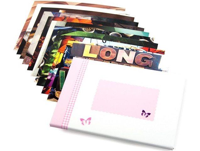 Geschenkverpakking met kaarten