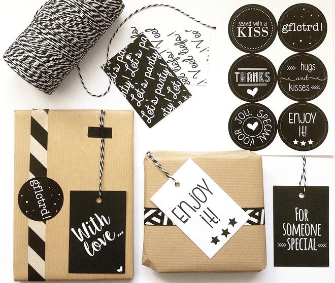 Cadeaulabels en stickers Zoedt