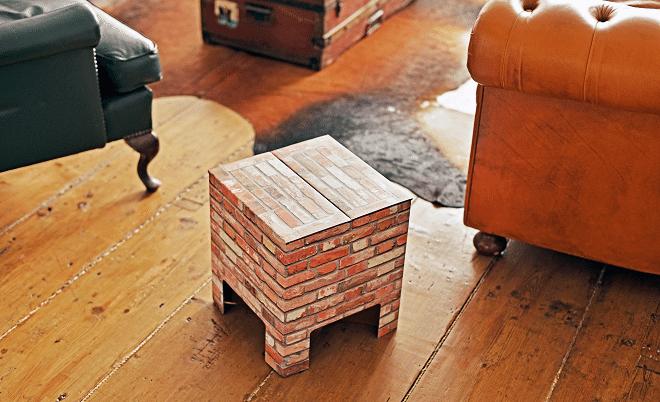 Dutch Design Chair Brick – een steengoed krukje!