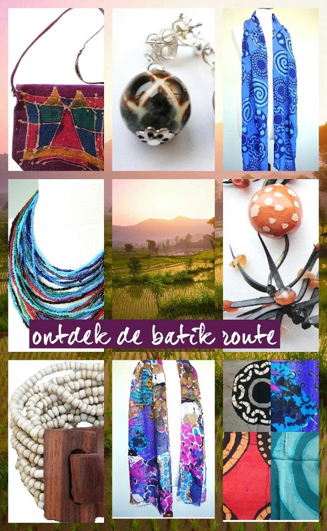 Ontdek jouw ideale modeaccessoires langs de batik route