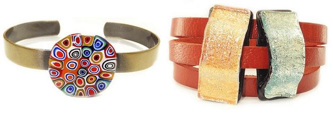 Glazen sieraden - armbanden
