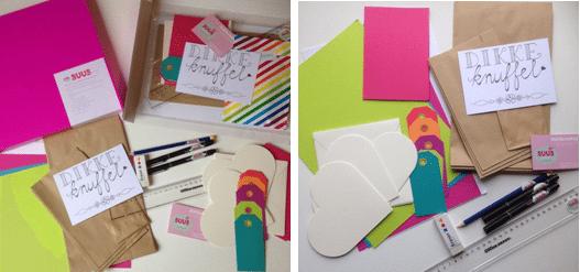 Winnen: Kleurrijk Handletter DIY pakket