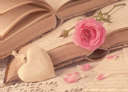 Cardcetera Rose on Book