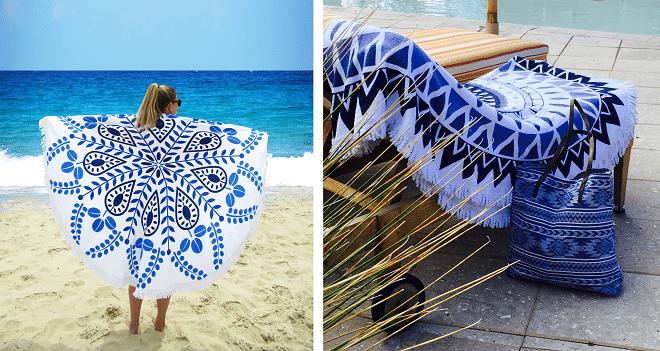 Jozemiek lanceert geweldige zomerse musthave - een rond strandlaken 1