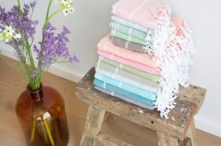 Haal de zomer in huis met de multifunctionele hamamdoeken van Love Arganolie