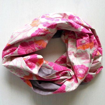 Infinity Sjaal Roze Grijs