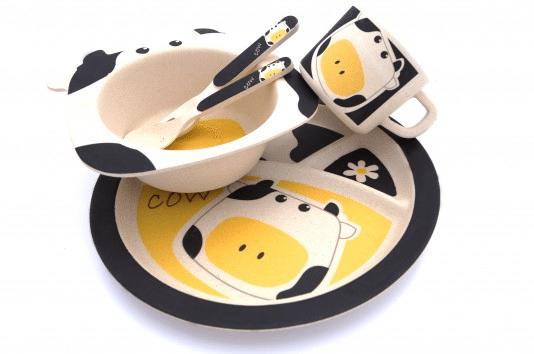 Kinderservies koe