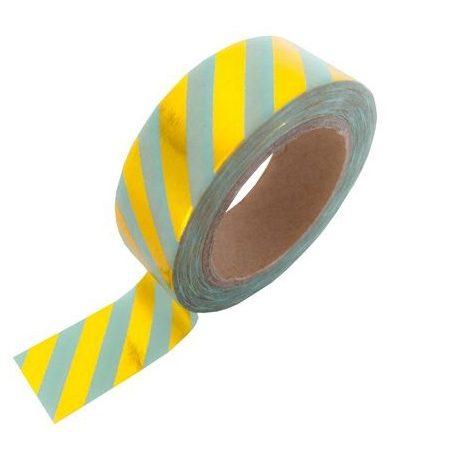 Masking-Tape-Mint-Gold-Stripe