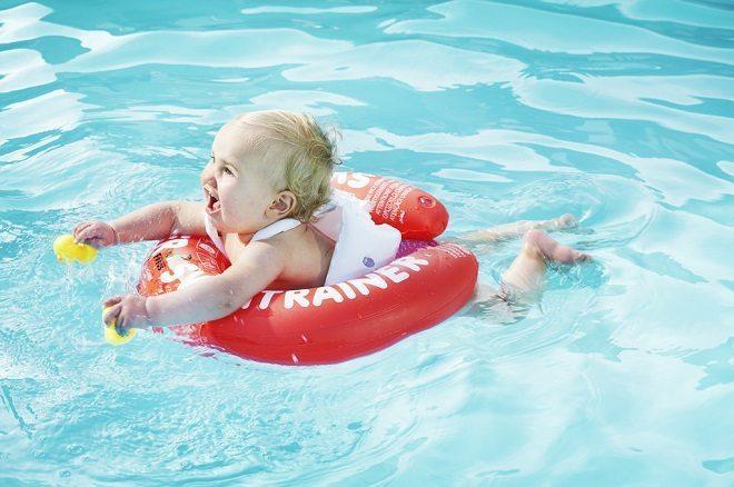 Winnen: Swimtrainer classic rood