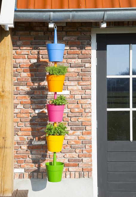 Voor alle mensen met groene vingers: denk ook eens aan verticaal tuinieren!