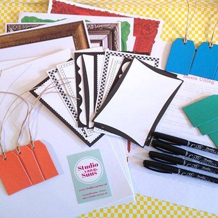 Studio van Suus Kalligrafeer Pakket