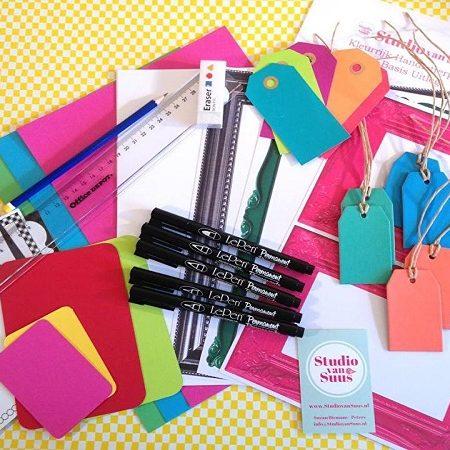 Studio van Suus Kleurrijk Handletter Pakket