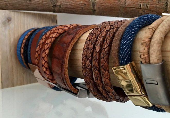 Blingdings - B&L Steel armbanden