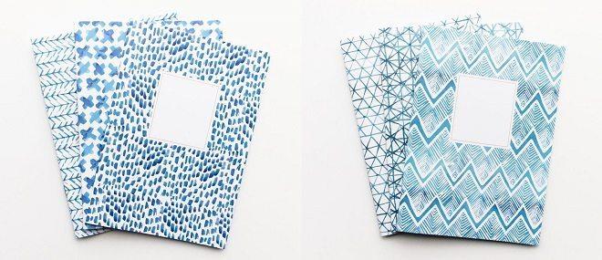 Dreamkey Design Indigo blue schriftjes