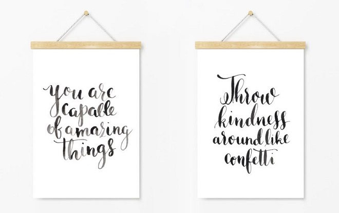 Dreamkey Design - Kalligrafie posters