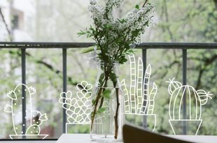 Raamtekening verrijkt Nederland met creatieve raamkunst