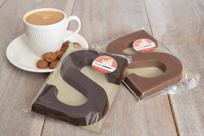 Chocoladeletters Greensweet-stevia