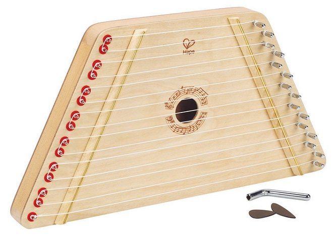 Houten harp