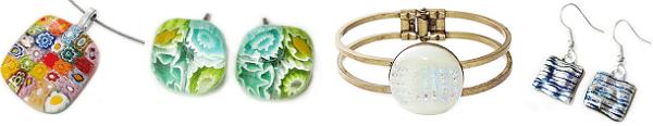 Handgemaakte glazen sieraden shop je online bij Glashangers.nl