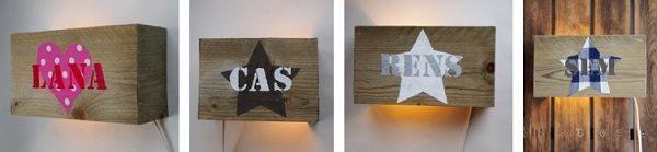 Stoere, lieve en unieke wandlampen voor de kinderkamer