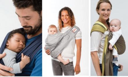 Draag je baby in een draagdoek
