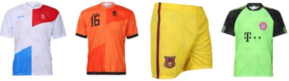 Shop voetbalshirts met korting