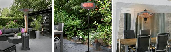 Verleng de zomer met een terrasverwarmer van Tuinmeubelen.nl