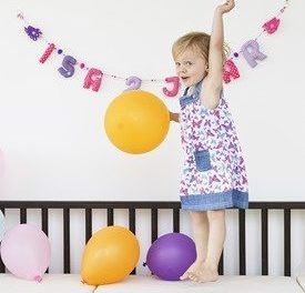 Fairtrade én extra feestelijk: de verjaardagsslingers van KiddyColors