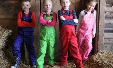Nieuw voor de zomer: kindertuinbroeken