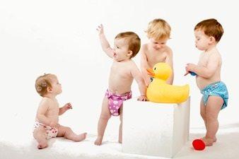 Hippe zwemluiers voor blije baby's en peuters