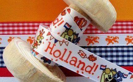 Lintjeswinkel kleurt Hollands vanwege het WK