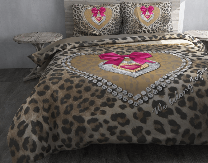 Tiger love - romantisch beddengoed