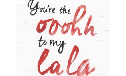 Stuur je geliefde voor Valentijnsdag een kus met een postzegel