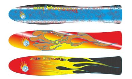 Ice surfboarden voor windsurfers die van kou houden