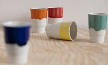 Nieuw: Keramiek design bekers