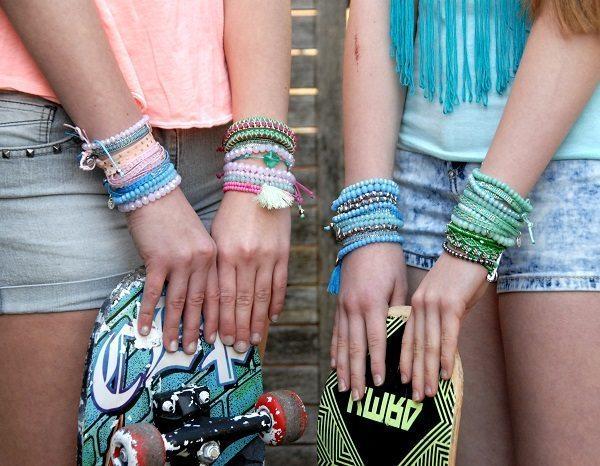 Mode accessoires vol vrijheid, vriendschap, love & peace