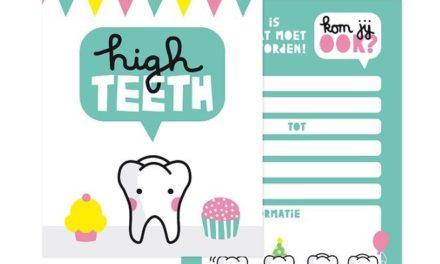 Tandenfeestje, een nieuwe traditie van High Teeth