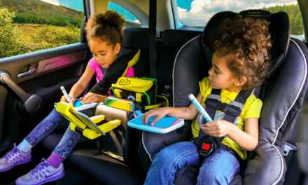 BubbleBum Junkie: de multifunctionele opbergspeelbox voor in de auto