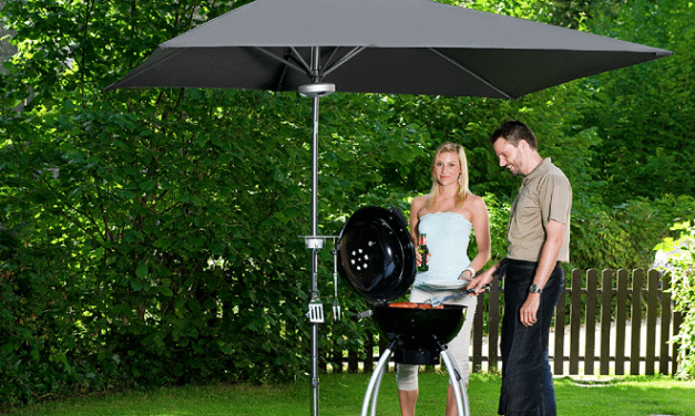 Barbecueën in de lente