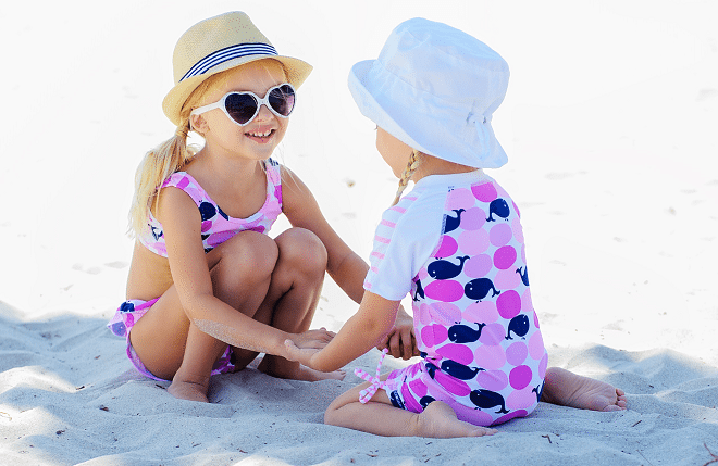 Zomerse hoedjes van UV-Fashions: hip én uv-werend