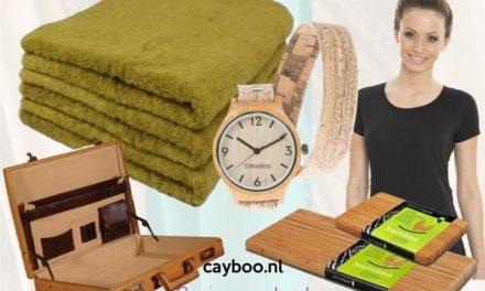 CAYBOO: webshop in eigentijdse bamboe artikelen