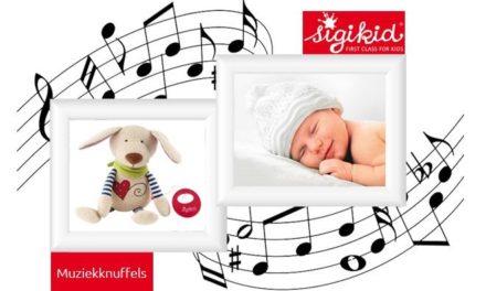 Lekker slapen met de Sigikid muziekknuffels